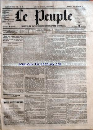 PEUPLE (LE) no:90 16/02/1849