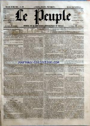 PEUPLE (LE) no:129 28/03/1849
