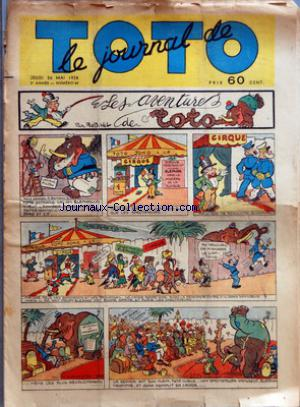 JOURNAL DE TOTO (LE) no:64 26/05/1938