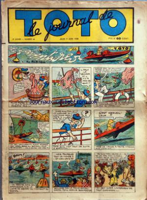 JOURNAL DE TOTO (LE) no:66 09/06/1938