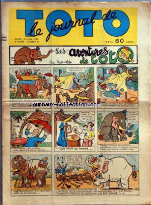 JOURNAL DE TOTO (LE) no:65 02/06/1938