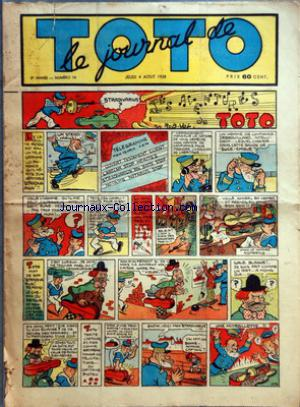 JOURNAL DE TOTO (LE) no:74 04/08/1938