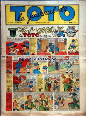 JOURNAL DE TOTO (LE) no:83 06/10/1938