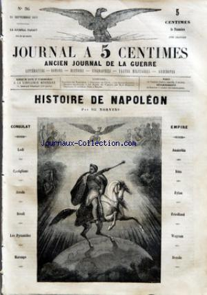 JOURNAL A 5 CENTIMES no:36 28/09/1859