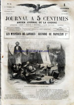 JOURNAL A 5 CENTIMES no:51 18/11/1859