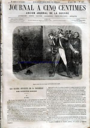 JOURNAL A CINQ CENTIMES no:127 11/08/1860