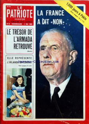 PATRIOTE ILLUSTRE (LE) no:18 04/05/1969