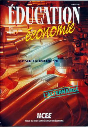 EDUCATION ECONOMIE no:3 01/10/1988