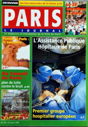 PARIS no:93 15/03/1999