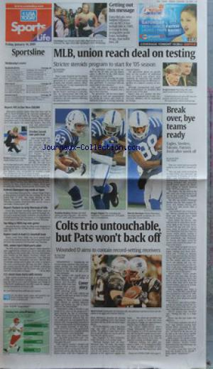 USA TODAY no: 14/01/2005
