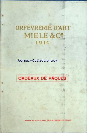 ORFEVRERIE D'ART MIELE AND CO no: 04/04/1914
