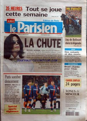 PARISIEN EDITION DE PARIS(LE) no:18784 31/01/2005