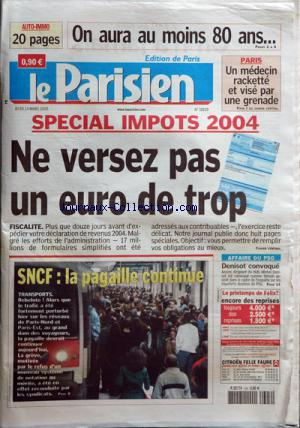 PARISIEN EDITION DE PARIS(LE) no:18829 24/03/2005