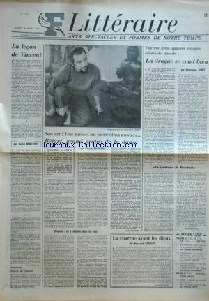FIGARO LITTERAIRE no:1351 08/04/1972