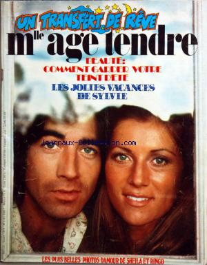 MLLE AGE TENDRE no:119 01/10/1974