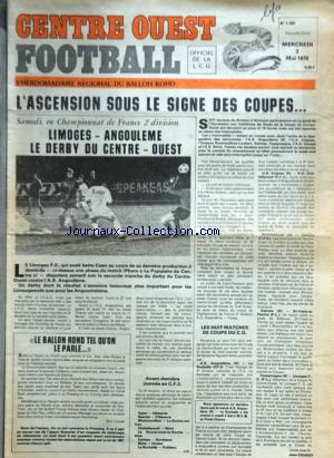CENTRE OUEST FOOTBALL no:1393 03/05/1978