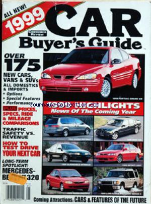 CAR BUYER'S GUIDE no:95