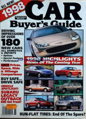 CAR BUYER'S GUIDE no: