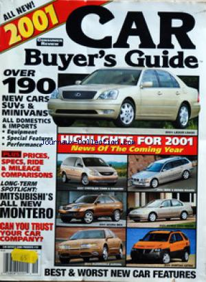 CAR BUYER'S GUIDE no:19