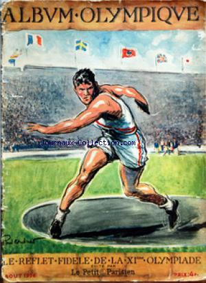 ALBUM OLYMPIQUE no: 01/08/1936