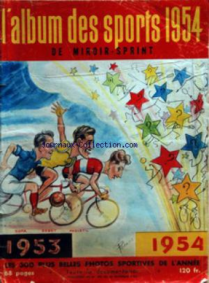 MIROIR SPRINT no:390 30/11/1953