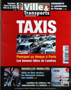 TRANSPORTS MAGAZINE no:440 30/01/2008