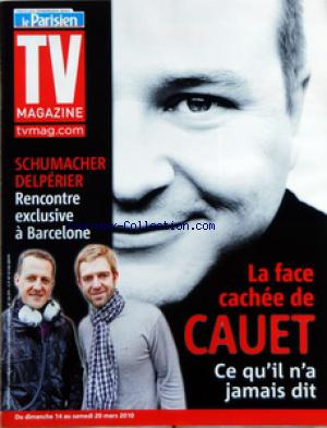 TV MAGAZINE LE PARISIEN no: 12/03/2010