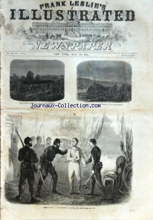 FRANK LESLIE'S ILLUSTRATED no:399 23/05/1863