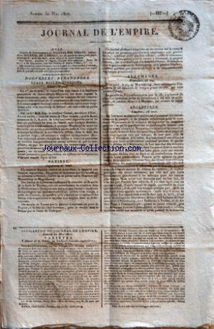 JOURNAL DE L'EMPIRE no: 30/05/1807