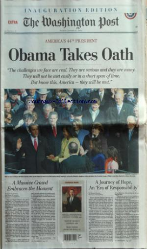 WASHINGTON POST (THE) no:46 20/01/2009
