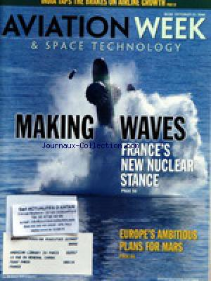 AVIATION WEEK AND SPACE TECHNOLOGY no: 23/10/2006