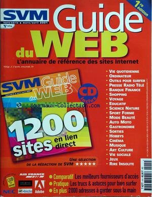 SVM SCIENCE ET VIE MICRO - GUIDE DU WEB no:2 30/04/2001