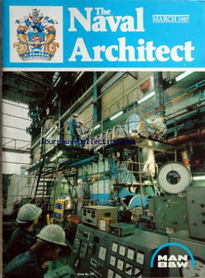 NAVAL ARCHITECT (THE)  no: 30/03/1987