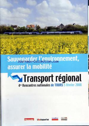 TRANSPORT REGIONAL TOURS no: 05/02/2008