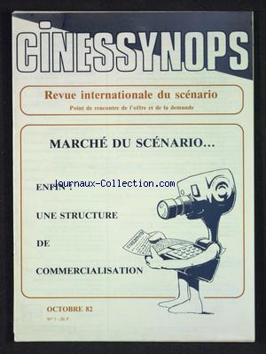 CINESSYNOPS no:1  01/10/1982