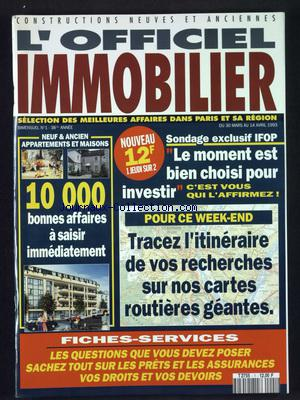 OFFICIEL IMMOBILIER (L') no:1 30/03/1993