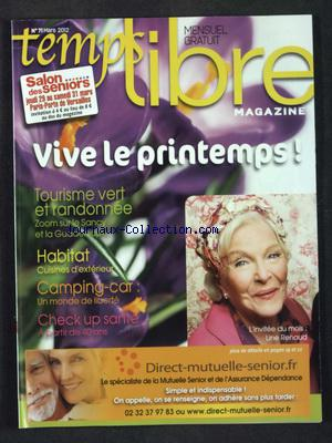 TEMPS LIBRE MAGAZINE no:71 01/03/2012