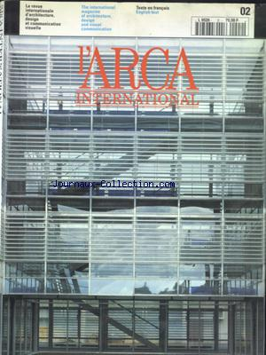 ARCA INTERNATIONAL (L') no:2