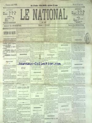 NATIONAL (LE) no:562 10/08/1870
