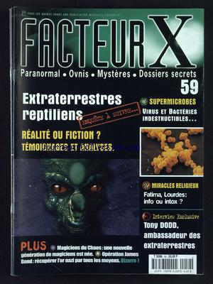 FACTEUR X no:59
