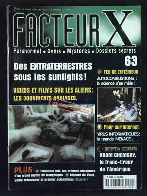 FACTEUR X no:63