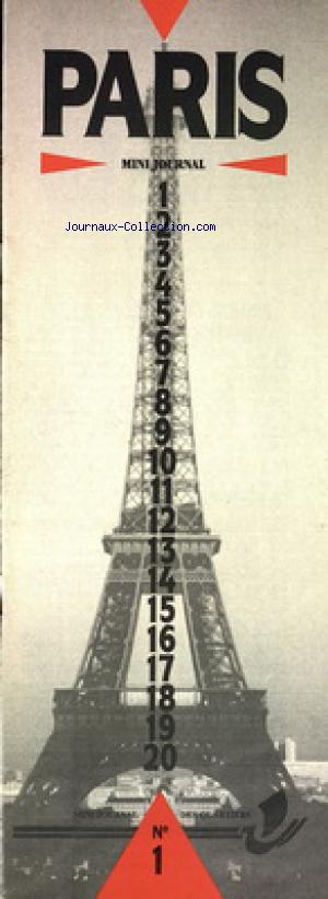 PARIS no:1