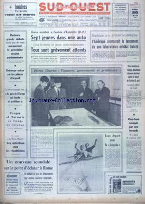 SUD OUEST no:7335 26/03/1968