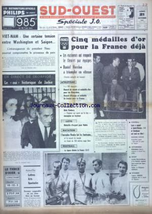 SUD OUEST no:7512 21/10/1968