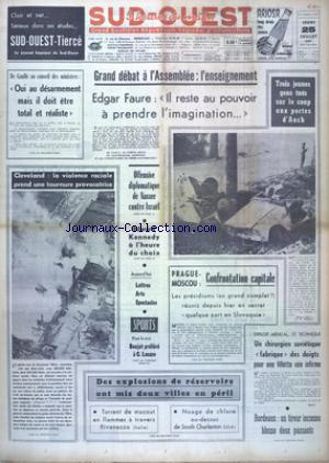 SUD OUEST no:7437 25/07/1968