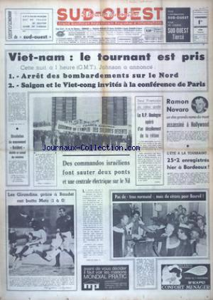 SUD OUEST no:7522 01/11/1968