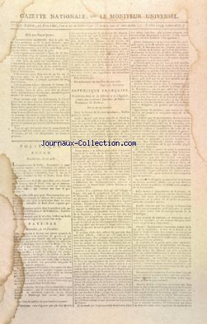 GAZETTE NATIONALE OU LE MONITEUR UNIVERSEL no:357 13/09/1794