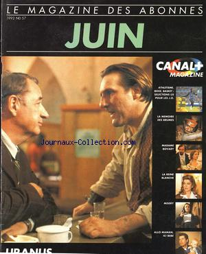 CANAL PLUS no:57 01/06/1992