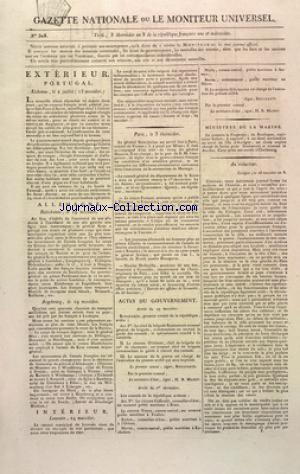 GAZETTE NATIONALE OU LE MONITEUR UNIVERSEL no:303