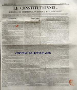 Constitutionnel (le) no:91 01/04/1830